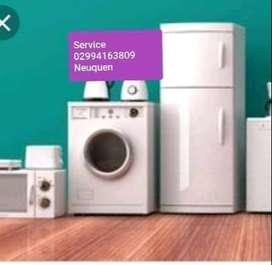 Service de heladeras lavarropa