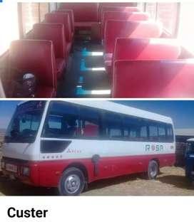 Vendo minibus por motivo de viaje