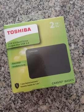 Disco Duro externo Toshiba de 2 Tbs