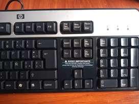 Teclado HP entrada PS2