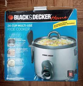 Olla arrocera Black Decker Nueva 24 Cups
