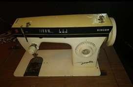 Máquina de coser Singer original con mueble
