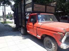 ford f100 nafta con gnc motor 221 con mudancera