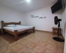 Alquiler de habitaciones con baño privado, a dos cuadras de unicentro, ambiente no familiar. cama extragrande 160