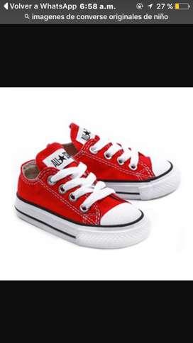 Para nin@s zapatos converse diferentes colores