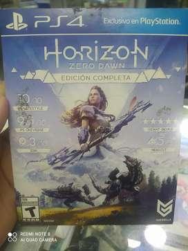 Horizon Zero Dawn completa Edición play 4 usado