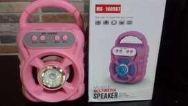 Gran Parlante Con Bluetooth, Usb, Micro Sd Y Radio Fm