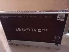 """TV LG smarth 49"""" 4K"""