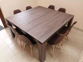 Mesa de 8 puestos