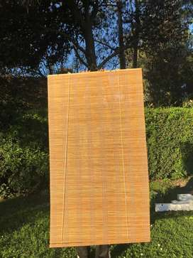Cortinas roller de bambú 2,00m x 1,20 y 1,80 x 1,00