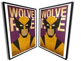 Vendo cuadro Wolverine