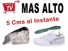 PLANTILLAS ELEVADORAS 5CM CRECE SILICONA