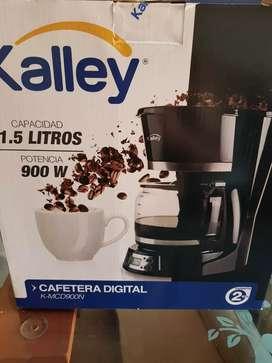 Cafetera NUEVA  KALLEY 12 taza