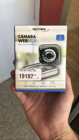 Cámara webcam con microfono