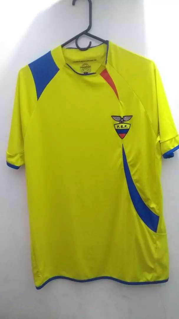 Camiseta Original Selección Ecuador 0