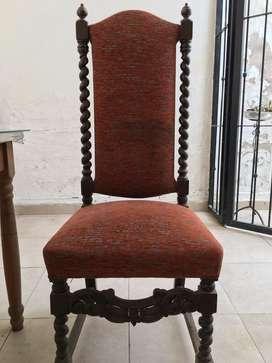 Juego de sillas jacobino ( x 4)
