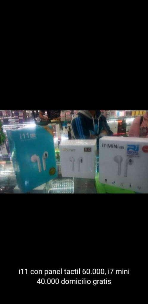 Audífonos iPhone I11 Y 7 Mini 0