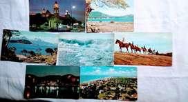 Lote 7 Tarjetas Postales de Argentina