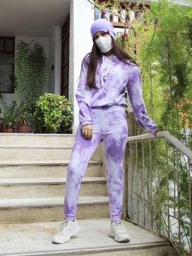 Conjunto tie dye Lila