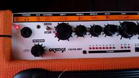 Amplificador NEW Orange Crush 20RT Revrb DIST Afinador