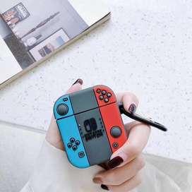 Estuche Edicion Nintendo Airpods Apple 1y2 i12 ENVÍO GRATIS!