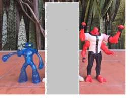 3 Figuras originales de ben 10