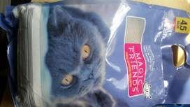 Arena para gato Económica