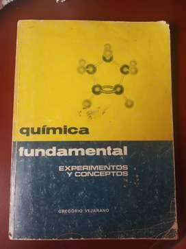 Vendo libro de química