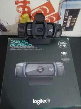 Camara logitech c920 PRO HD
