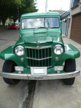 Se vende o se cambia Willys Station Wagon