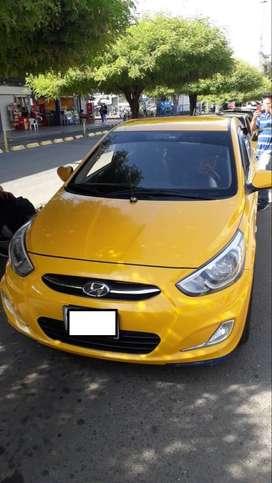 Se vende Taxi Hyundai i-25 modelo 2016 - Registrado en Buga Valle del Cauca