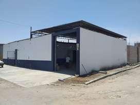Vendo ambiente para taller y lavado de auto