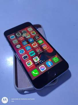 Vendo o cambio iphone silver de 64 gb