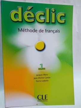Declic 1 Methode de Francais Livre  Cahier  Cd Nuevos!!