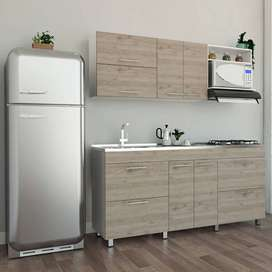 Cocina Integral Completa 1.80 cm Estufa + Poseta