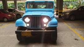 Jeep Willys CJ 6 largo, motor 4 Cilindros, largo, todo al día.