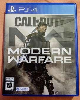 Vendo Nuevo Call Of Duty Modern Warfare
