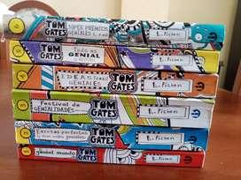 Pack de 6 libros - Tom Gates