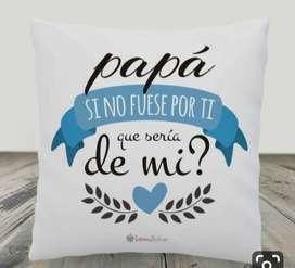 almohadas dia del padre
