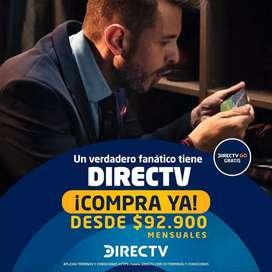 Planes de televisión e internet DirecTV