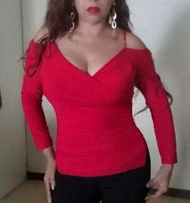 Blusa color rojo