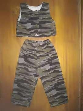 Disfraz De Militar para Bebé Niño
