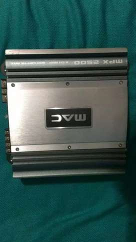 Amplificador de sonido para carro