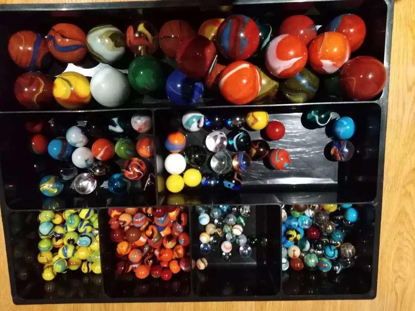 856 Canicas bolas bolonchos Marble de lujo diferentes tamaños 0