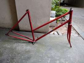 Cuadro Bicicleta Con Horquilla - Fixie - Vintage - Retro