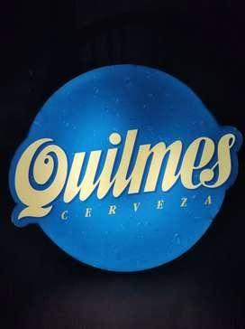 Cartel luminoso Quilmes