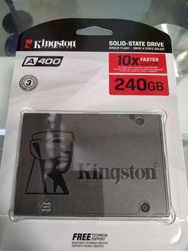 Ssd de 240gb marca Kingston nuevo