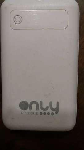 Vendo Power Bank Only cargador portátil 6500 Mah