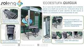Estufa De Leña Ecoeficiente Móvil Desarmable