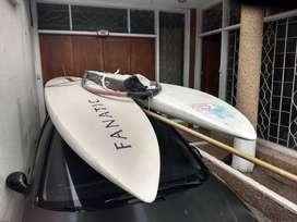 Tabla de windsurf (aparejo completo)
